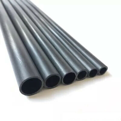 OD 5-18mm Wall 1mm Carbon Fiber Tube Round Pipe Matte Surface 10-500mm US