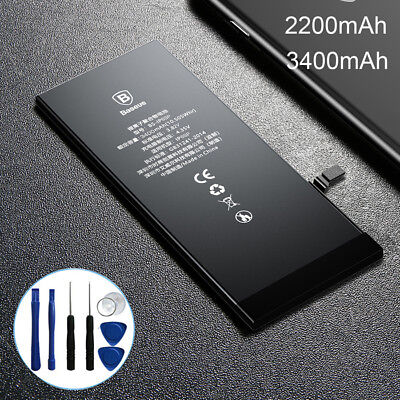 Baseus High Replacement Internal Li-Ion Battery For Apple iPhone 6 6s Plus+Tools