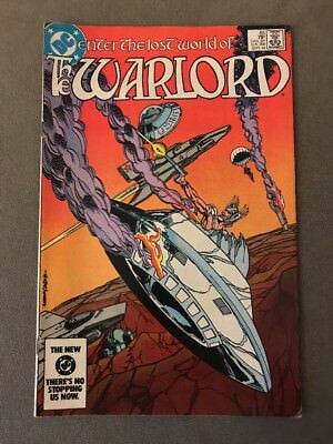 DC Comics Enter the Lost World of The Warlord #85 (Sept 1984) ~ VF+