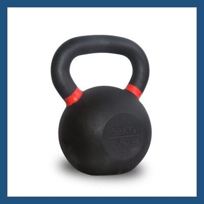 32kg Classic Powder Coated Cast Iron Russian Style KettleBell