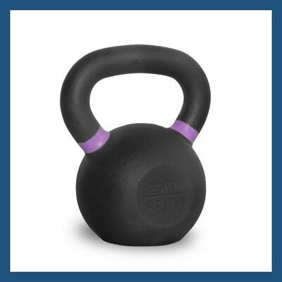 20kg Classic Powder Coated Cast Iron Russian Style KettleBell
