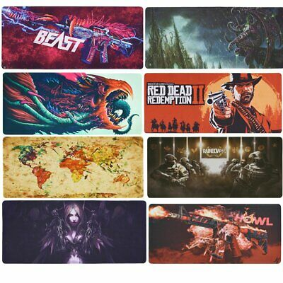 90x40cm World of Warcraft Large Anti-Slip Gaming Mouse Pad Desk Mat PC Laptop