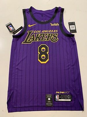 the best attitude 72eb8 756b7 KOBE BRYANT #8 Authentic Nike City Edition Jersey NWT. With/WISH Patch!!!!