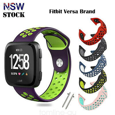 Fitbit Versa Replacement Wristband Soft Silicone Sport Band Strap Fitbit Versa