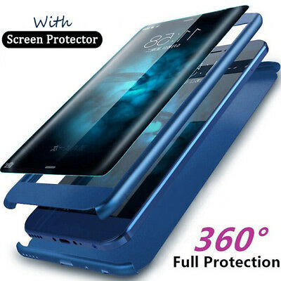 Luxury 360° Full Protective Cover Case For Samsung Galaxy S9 S8 Plus S7 S6 Edge