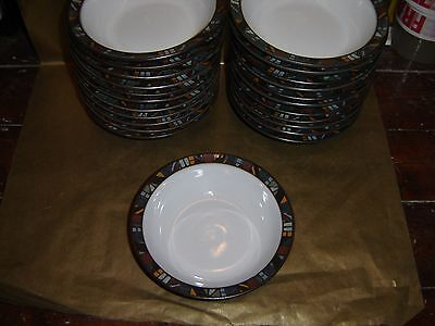 """denby marrakesh large cereal / soup bowl 7"""" diameter (several available)"""