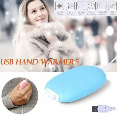 Mini Portable USB Pocket Hand Warmer Rechargeable Heater Gift DC 5V 4W