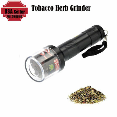 Leaf Herbal Tobacco Electric Grinder Mill Smoke Spice Crusher Muller Hot Gift US