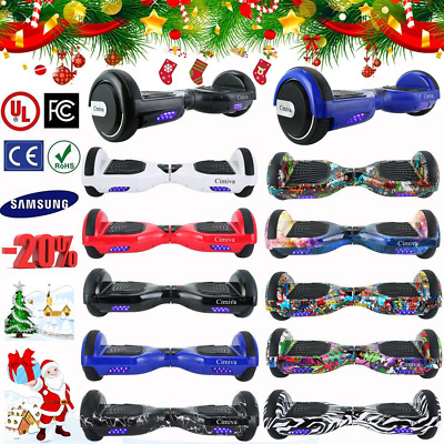 "6.5"" Hoverboard Overboard Skate Scooter électrique Bluetooth +Sca E-Balance"