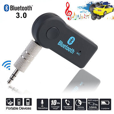 3.5mm Wireless Bluetooth Receiver Audio Adapter Car AUX suit Headphone