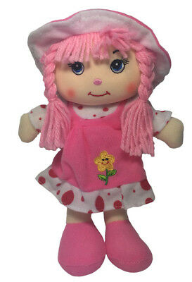 Teddy & Friends Rag Doll - Ivy [25cm] Soft Plush Toy Ragdoll NEW