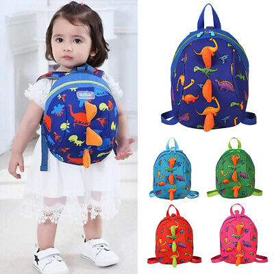 Gifts Cartoon Baby Toddler Kids Dinosaur Safety Harness Strap Bag Backpack Reins