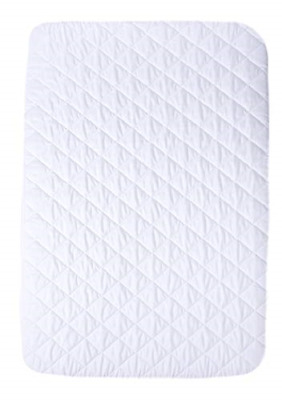 Pack N Play Mattress Pad Cover Protector – Fitted Baby Playard Crib Quilted – &