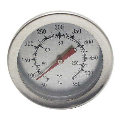 New Bimetallic barbecue stove thermometer oven stainless steel thermometer -SL76