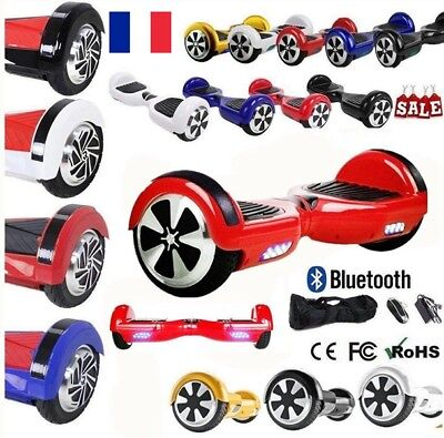 6.5-8.0 Inch Smart Overboard Self Balancing Scooter Electrique Skate Bluetooth