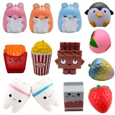 Jumbo Slow Rising Squishies Scented Charms Kawaii Squishy Squeeze Toy B