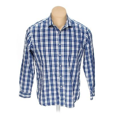 16feb87c TOMMY HILFIGER MEN'S Button-up Long Sleeve Shirt, size M, blue/navy ...