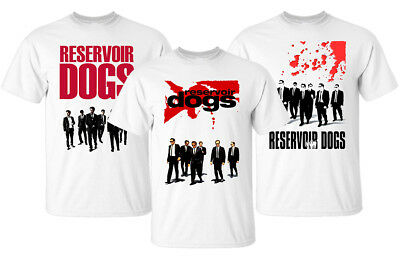 Reservoir Dogs V1-V3, Quentin Tarantino 1992, T-Shirt (WHITE) All sizes S-5XL