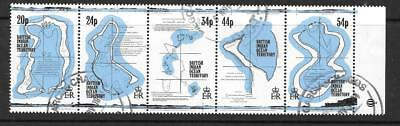 BRITISH INDIAN OCEAN TERR SG147a 1994 MAPS FINE USED