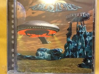 Boston.               Greatest.  Hits.          Compact Disc
