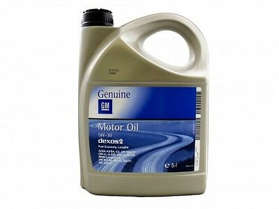 5W 30 Genuine Gm Vauxhall Bmw Fully Syn Engine Motor Oil Dexos 2 93165557