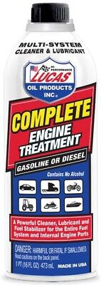 Lucas Oil & Fuel Complete Engine Treatment 14oz 10016 Petrol / Diesel Cleaner