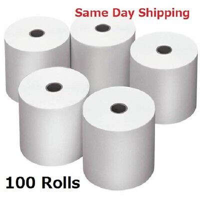 SYDNEY METRO ONLY. 100 Rolls 80x80mm Thermal Paper Cash Register Receipt Roll