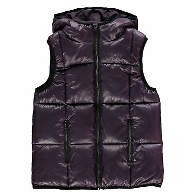 Kids Girls USA Pro Quilted Gilet Junior Heritage Quilt Jacket Sleeveless New