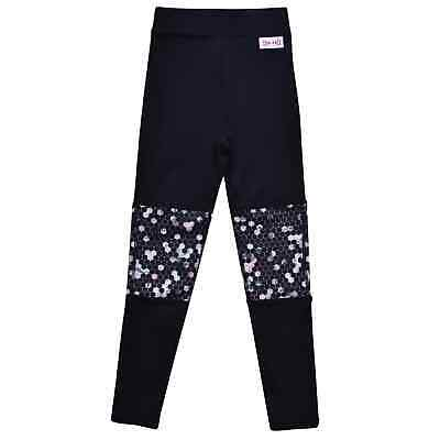 Kids USA Pro LM Panel Tgt Girls Performance Tights New
