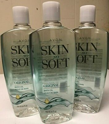 Avon's Skin so Soft Original Bath Oils 25oz limited time offer! Free shipping! 3