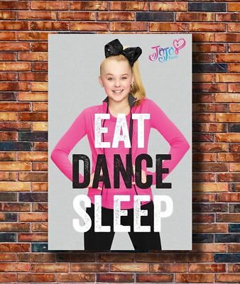 EAT DANCE SLEEP POSTER JOJO SIWA 22x34-15609