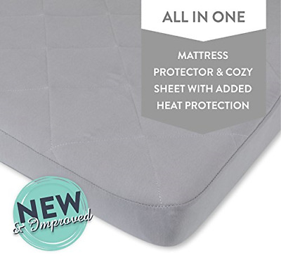 Waterproof Cotton Quilted Pack n Play Sheet | Mini Crib Sheet | New Revised Fit