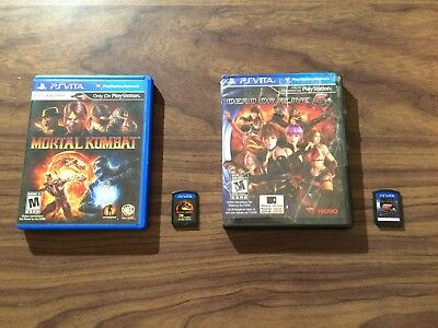 Dead or Alive 5 Plus / DOA 5+ + Mortal Kombat (Sony PlayStation Vita) Tested