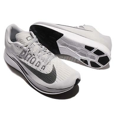 08e22337161c4 New Nike Zoom Fly Vast Grey anthracite Mens Running Shoes Size 7 (880848-