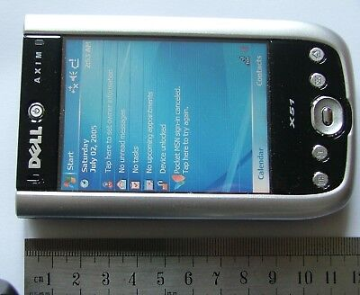 Dell Axim X51, Windows mobile 5.0 CD, Office, charger, docking, Manual, stylii