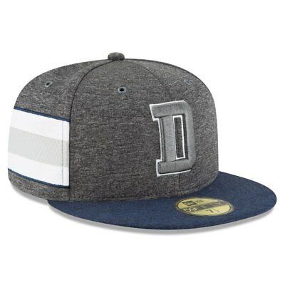 30c859f0b Dallas Cowboys 2018 Nfl New Era 59Fifty Graphite Sideline Home Fitted Hat  Cap