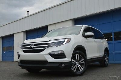 2017 Honda Pilot EX-L Leather Interior Navigation Power Everything Rear and Right View Cameras Loaded