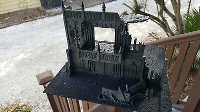 WARHAMMER 40K CITY Building - Imperial Cities of Death terrain scenery