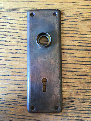 "Antique Steel Door Plates 2"" x 6"""