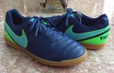 NIKE JR TIEMPOX Rio III IC Kids Indoor Soccer Shoes Style 819196-004 ... ebe45931fe0