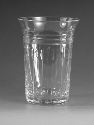 "STUART Crystal - OLETA / VILLIERS Cut - 5oz Tumbler Glass / Glasses - 3 1/2"" 1st"