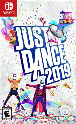 Just Dance 2019 (Nintendo Switch, 2018)  *Never Used* Fast Shipping