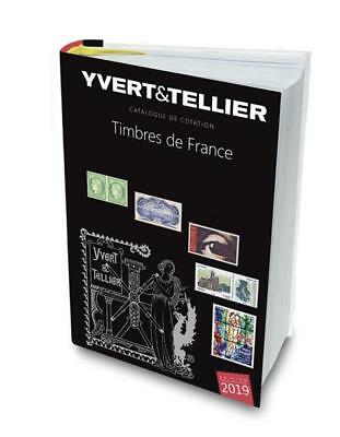 Yvert & Tellier France Stamp Catalogue 2019 edition BRAND NEW HARDBACK EDITION