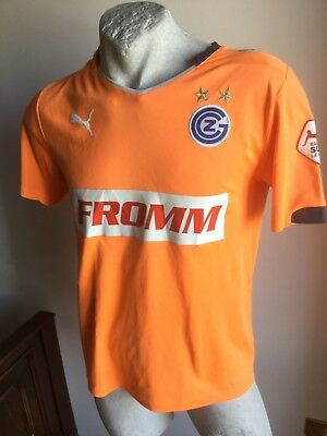 Maglia calcio Grasshoppers FROMM swiss MARC 1# football shirt goalkeeper 2011