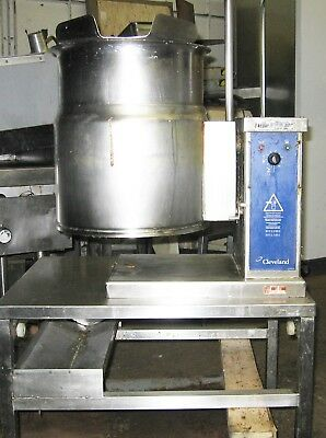 6 Gallon Groen Steam Jacketed Stainless Steel Soup Sauce Kettle Pot 208V 3 phase
