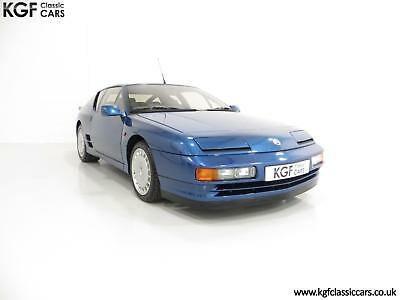 An Immaculate 1/67 RHD Renault Alpine A610 Turbos with Only 2,518 Miles