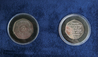 Uncirculated Brexit 2020 2 Coin Set EEC Entry 1973 & 2020 Withdrawal From The EU