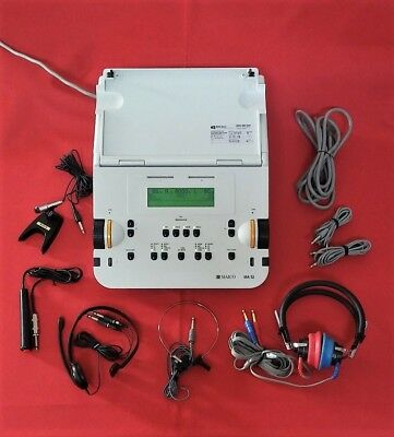 Audiometer Maico Ma 52   Portable Two Channel