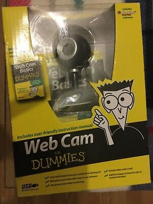 Web cam For Dummies / New in box