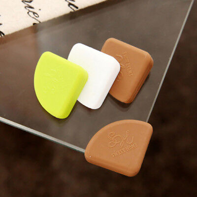 UK_ 4Pcs Silicone Table Corner Protectors Desk Edge Cushion Baby Safety Guards H